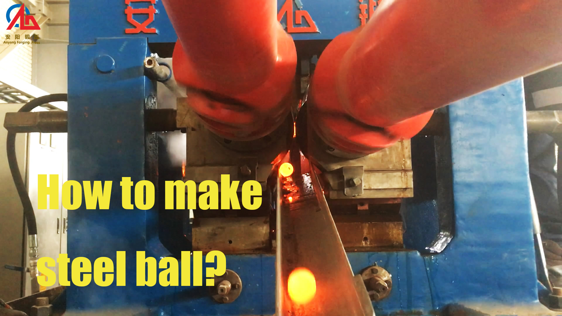 steel ball, skew rolling mill, automatic production line, make steel balls