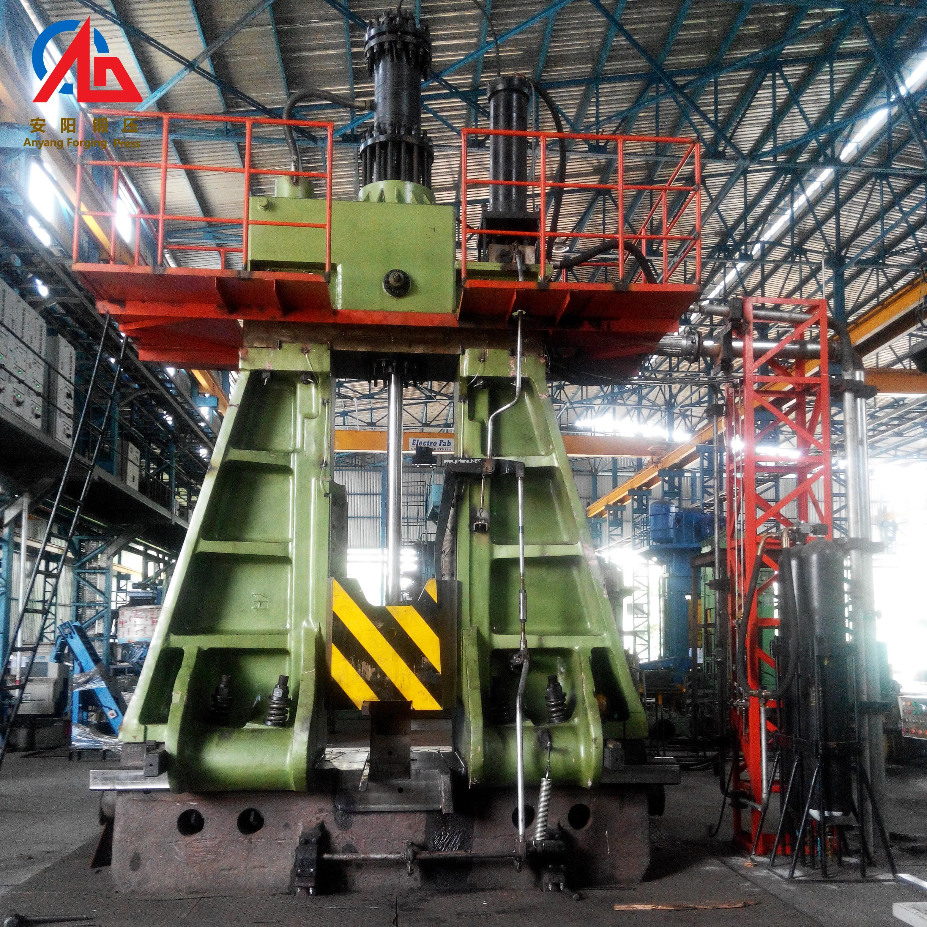 Alloy tool steel forging process & forging machine