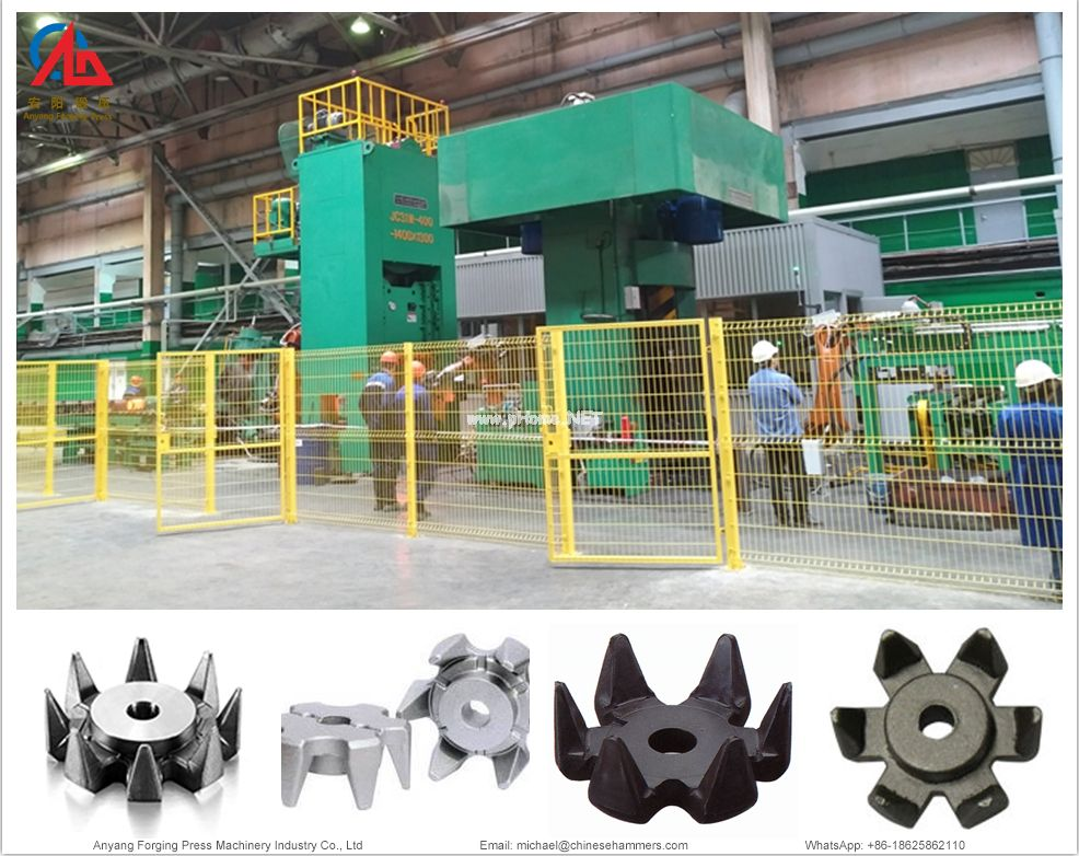 Connecting rod forging production line