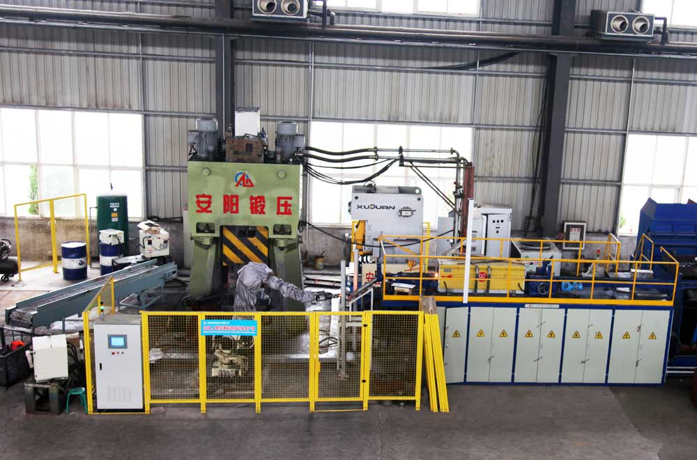 automatic forging line machine